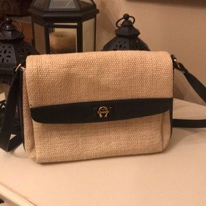 Etienne Aigner Straw Purse - Like New